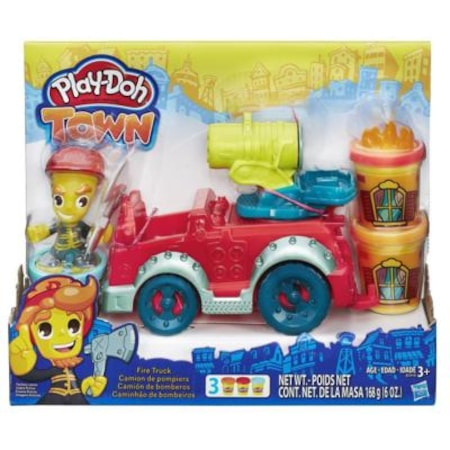 Play Doh Playdoh B3416 Itfaiye Arabasi Oyunu Hamuru Oyuncaklari