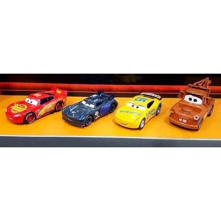 Cars Arabalar Oyuncak 4 Lu Set Simsek Mcqueen Metal N11 Com