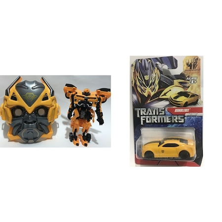 Transmutation Maskerobot Araba Ve Bumblebee Transformers Araba