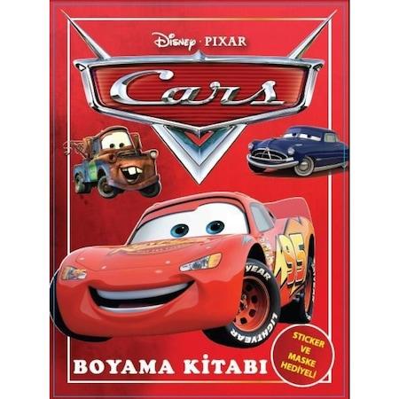 Arabalar Boyama Kitabi Maske Ve Sticker Hediyeli N11 Com