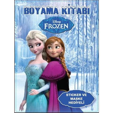 Frozen Karlar ülkesi Elsa Anna Boyama Kitabı 4 Adet N11com