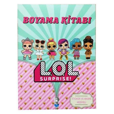 Lol Bebekler Boyama Kitabi Sticker Maskeli N11 Com