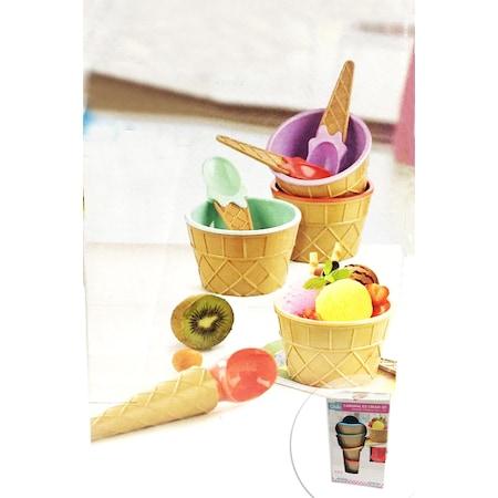 Sik Tasarim Kulah Eglenceli Dondurma Seti 9 Parca N11 Com