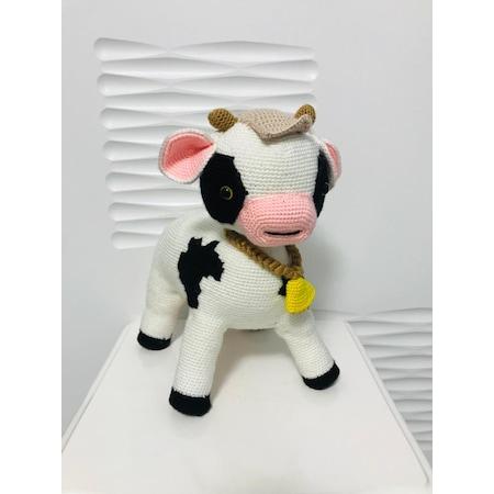 Amigurumi Sütlü İnek Tarifi | Amigurumi, Tarifler, Tığ işi örgüler | 450x450