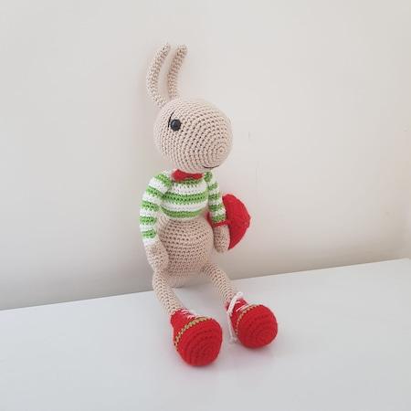 Organik Kız Örgü Amigurumi Oyuncak Bebek - n11.com | 450x450