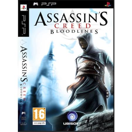 Sony Psp Assassins Creed Bloodlines Kitapcikli Outlet Urun Kacmaz