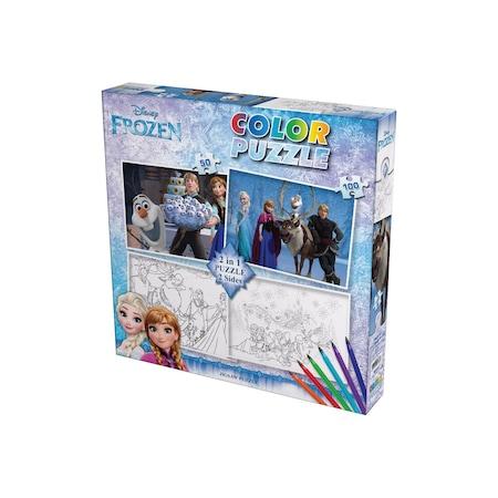 Frozen Cars 3 Puzzle Ve Boyama Seti Orjinal ürün N11com