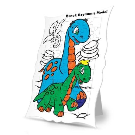Nasrettin Hoca Ve Eşşek Boyama Puzzle Tablo çocuk Eğitici Yapboz