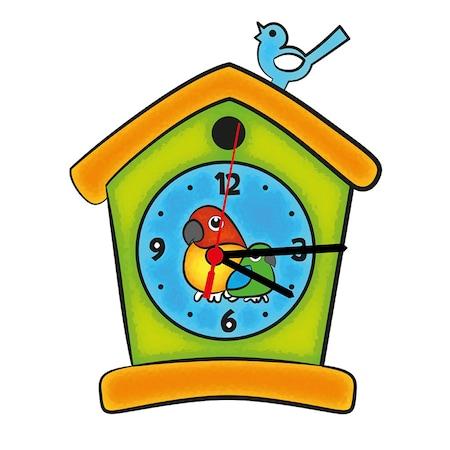Ahşap Saat Boyama 6lı Akrilik Boya Ve Fırça Hediye S 12 N11com