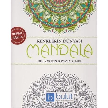 Renklerin Dünyası Mandala Her Yaş Için Boyama Kitabı N11com