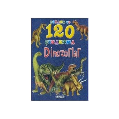 Dinazor Boyama Ve 120 çıkartma Kitabı çiçek Yay N11com