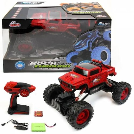 4X4 Off Road >> Rock Crawler Through 4x4 Off Road Uzaktan Kumandali Jeep N11 Com