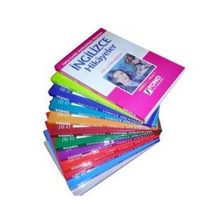 Fono Ingilizce Hikaye Kitapları Seti Ingilizce Türkçe 12 Kitap