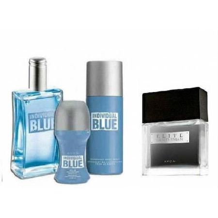 Avon Individual Blue Erkek Parfüm Set N11com