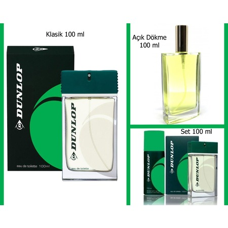 Ml 100 Klasik Satış Dunlop Parfüm Seçenekli RAj3L45