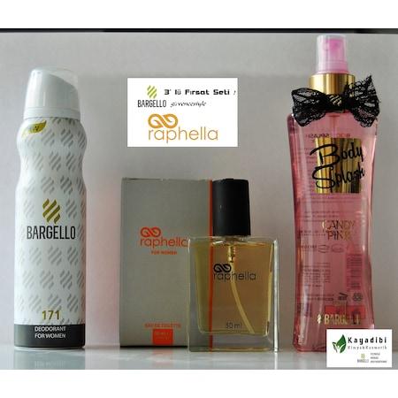 Bargello Raphella 3 Lü Bayan Parfüm Set 171 La N11com