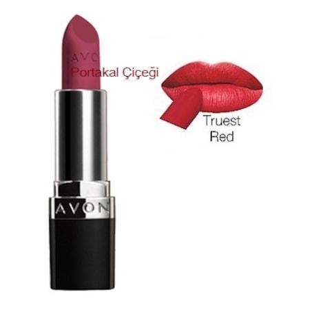 Avon Mat Ruj Perfectly Matte Renk Truest Red N11com