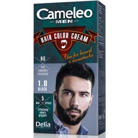 Cameleo Men Erkek Saç Boyası 10 Siyah N11com
