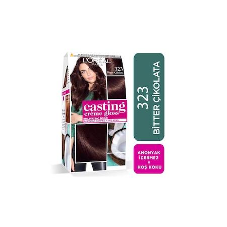 Casting Creme Gloss Sac Boyasi 323 Bitter Cikolata Fiyatlari Ve