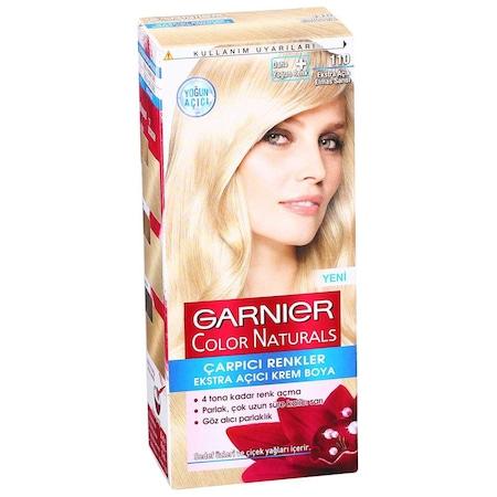 Garnier çarpıcı Renkler 110 Açık Elmas Sarısı Saç Boyası N11com