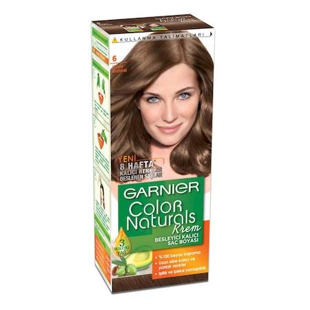 Garnier Sac Boyasi Color Naturals 6 Koyu Kumral 3600540310392