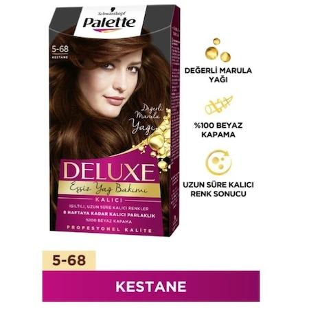 Palette Deluxe Yogun Kalici 5 68 Numara Kestane Sac Boyasi