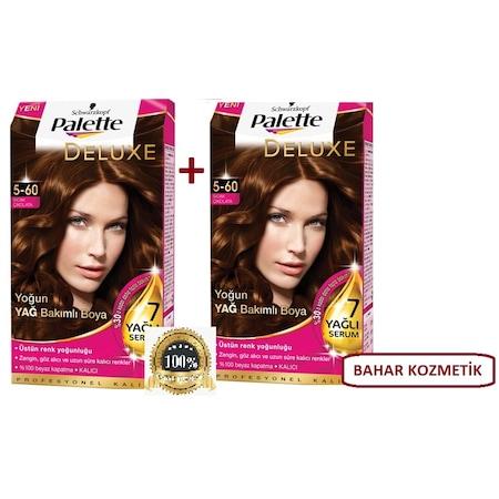 Palette Deluxe 560 Sıcak çikolata Saç Boyası 2 Adet N11com