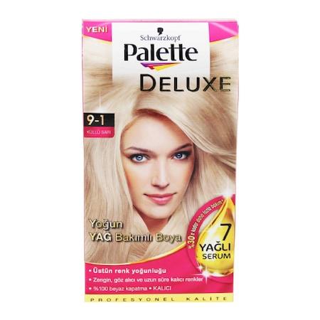 Palette Deluxe 9 1 Küllü Sarı Saç Boyası 50 Ml N11com
