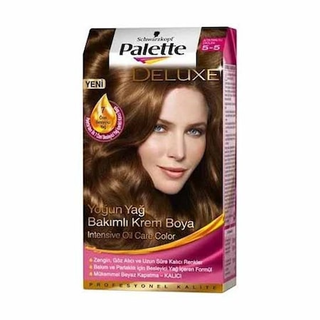 Palette Deluxe 5 5 Numara Altin Parilti Cikolata Sac Boyasi