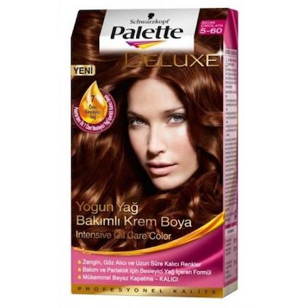 Palette Deluxe Saç Boyası 56 Sıcak çikolata N11com