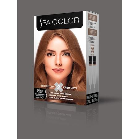 Sea Color 2li Krem Saç Boyası 835 Bal Karameli N11com
