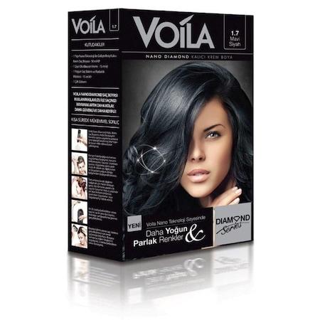 Voila Nano Diamond Krem Sac Boyasi 1 7 Mavi Siyah Fiyatlari Ve