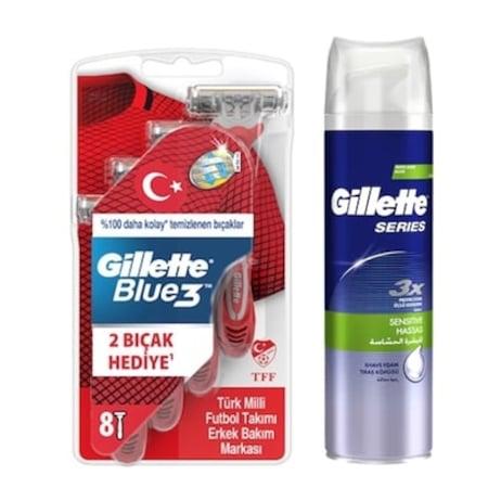 08f2f49571c38 Gillette Blue 3 Tıraş Bıçağı Çeşitleri & Fiyatları - n11.com - 3/10