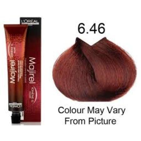 Loreal Majirel 646 Koyu Kumral Bakır Kızıl Saç Boyası 50 Ml N11com