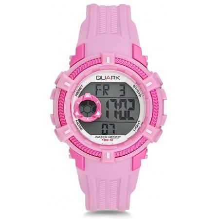 27cac60f5752a Quark Genç Kız Çocuk Kol Saati Dijital Saat Pembe Qu-17724-04 - n11.com
