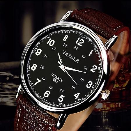 Yazole Erkek Kol Saati ile Zamanı Yakalayın