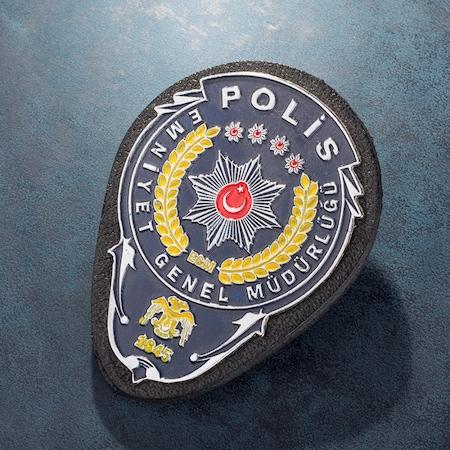 Emniyet Genel Müdürlüğü Polis Kemer Rozeti N11com