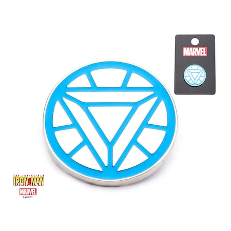 Marvel Iron Man Logo Yaka Pini