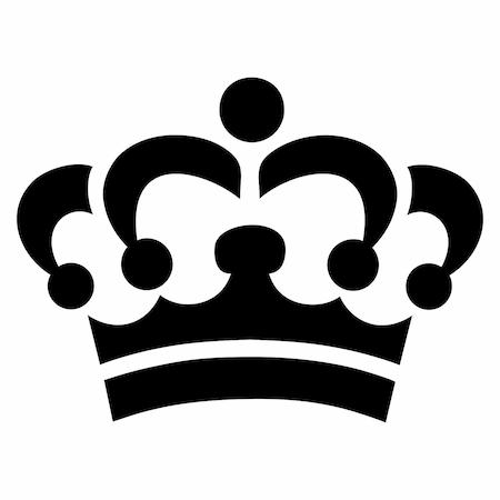 Kraliçe Tacı Tattoo Dövme şablonu N11com