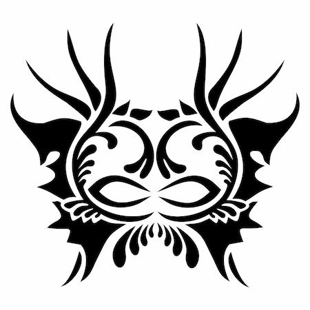 Prenses Tacı Tattoo Dövme şablonu Model 3