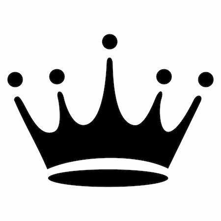Prenses Tacı Tattoo Dövme şablonu