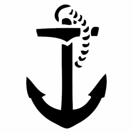 Deniz çapası Tattoo Dövme şablonu Model 1 N11com