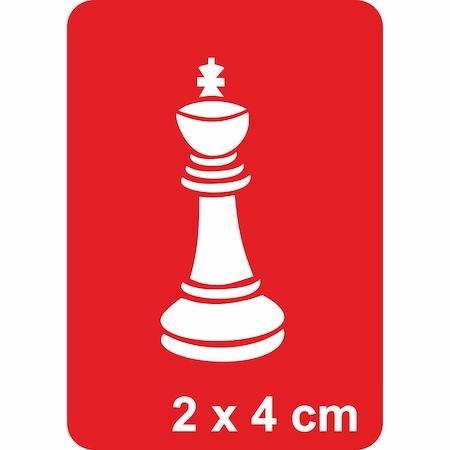 Satranç Oyun Takımından şah Tattoo Dövme şablonu N11com