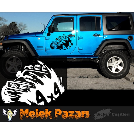 4x4 Off Road >> 4x4 Off Road Araba Sticker