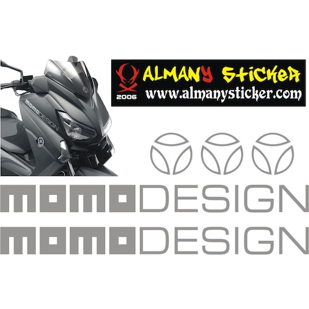 Momo design stickerxmax stickermotosiklet sticker