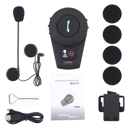 67ab95b2fb5 Freedconn Fdc-vb Bluetooth İntercom Streo Kulaklık /500m/radyolu ...