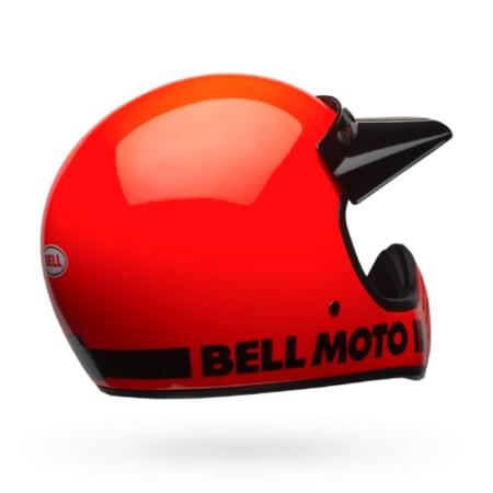 Bell Moto 3 >> Bell Ps Moto 3 Classic Flo Orange Kapali Kask N11 Com