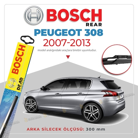 Peugeot 1007  2005-2012 Bosch Rear Wiper Blade H301