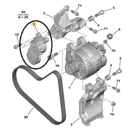 Peugeot Alternator