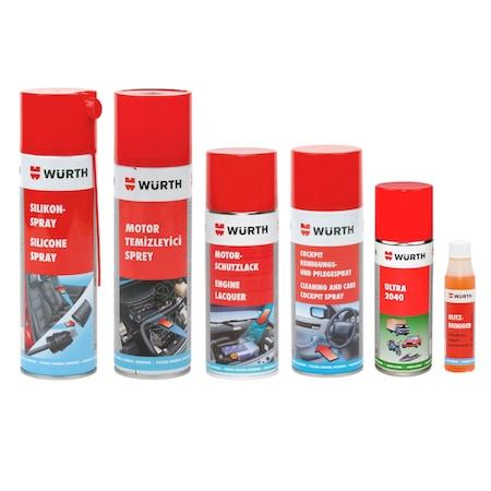 Araçların Dış Temizliği İçin Würth Oto Bakım Ürünlerini Kullanın